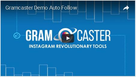 Gramcaster – Instagram Tool