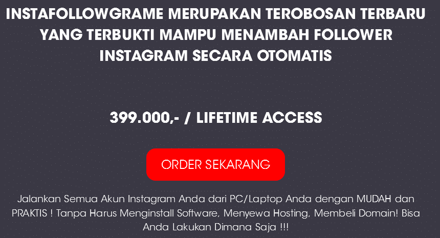 Instafollowgramme – Instagram Tools For Marketing