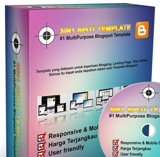 3 in 1 Blogspot Multipurpose Theme