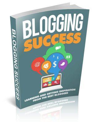 Blogging Success – Cover