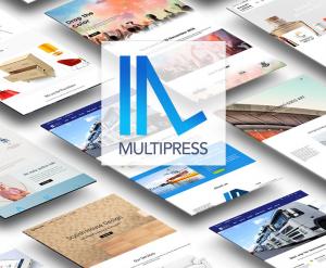 screenshot-multipress wp theme